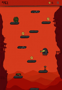 Descarga gratuita de Doodle Jump para iPhone, iPad y iPod.