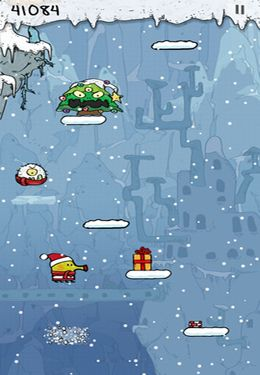 Download Doodle Jump Christmas Special iPhone free game.