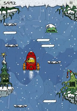 Descarga gratuita de Doodle Jump Christmas Special para iPhone, iPad y iPod.