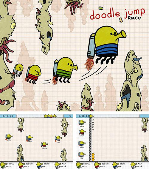 In addition to the game World zombination for iPhone, iPad or iPod, you can also download Doodle jump race for free.
