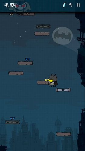 Download Doodle jump: Super heroes iPhone free game.