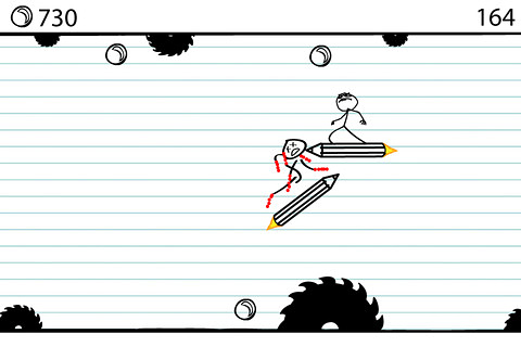 Capturas de pantalla del juego Doodle riders para iPhone, iPad o iPod.