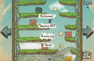 Screenshots of the Doodle Rush game for iPhone, iPad or iPod.
