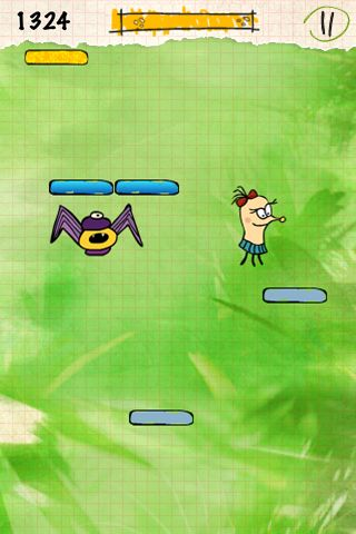Screenshots of the Doodle smash game for iPhone, iPad or iPod.