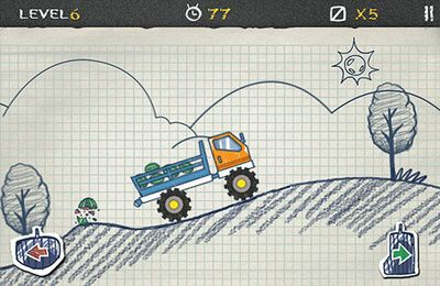 Descarga gratuita de Doodle Truck para iPhone, iPad y iPod.