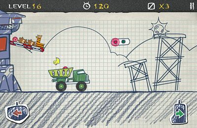 Игра Doodle Truck для iPhone