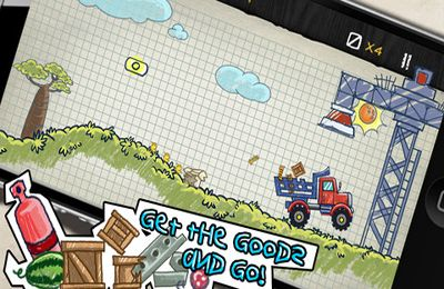 Download Doodle Truck 2 iPhone free game.