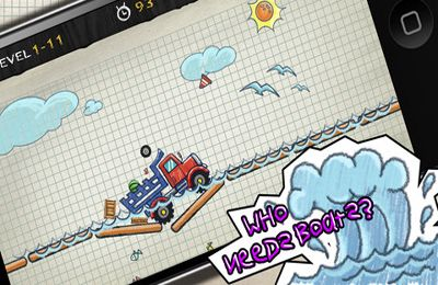 Free Doodle Truck 2 download for iPhone, iPad and iPod.