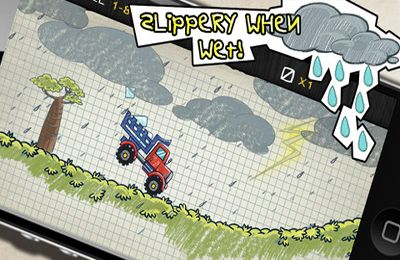 Screenshots of the Doodle Truck 2 game for iPhone, iPad or iPod.