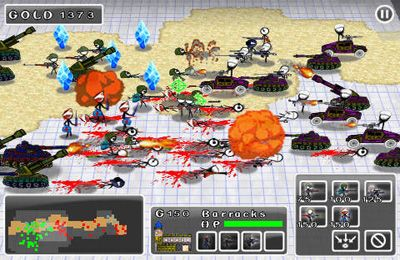 Screenshots of the Doodle Wars 2: Counter Strike Wars game for iPhone, iPad or iPod.
