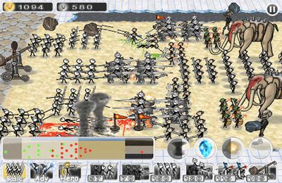 Screenshots vom Spiel Doodle Wars 3: The Last Battle für iPhone, iPad oder iPod.