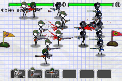 Free Doodle wars: Modern warfare download for iPhone, iPad and iPod.