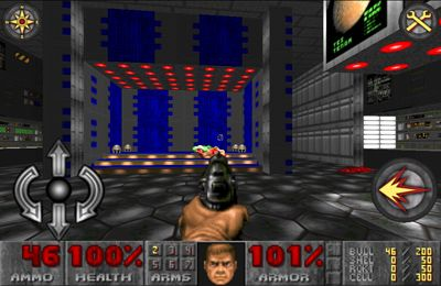 Screenshots do jogo DOOM Classic para iPhone, iPad ou iPod.