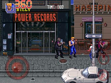 Screenshots vom Spiel Double Dragon Trilogy für iPhone, iPad oder iPod.