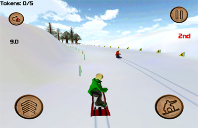 Descarga gratuita de DownHill Racing para iPhone, iPad y iPod.