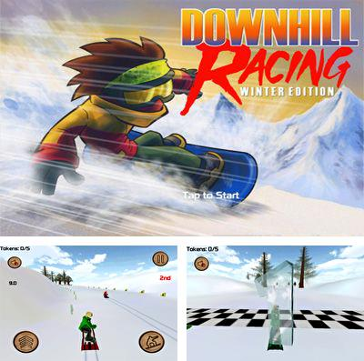 In addition to the game Hoppetee! for iPhone, iPad or iPod, you can also download DownHill Racing for free.