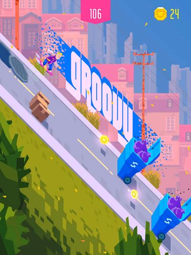 Screenshots of the Downhill: Riders game for iPhone, iPad or iPod.