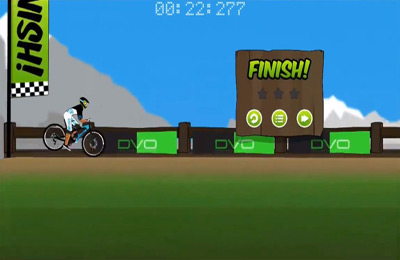 Screenshots of the Downhill Supreme game for iPhone, iPad or iPod.