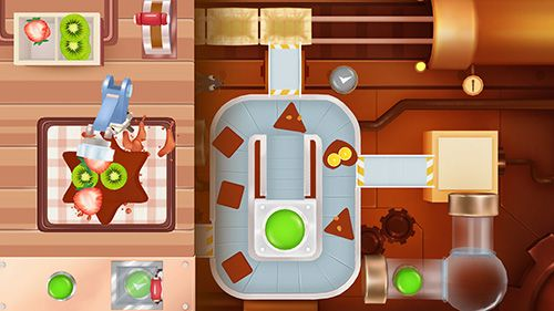 Screenshots of the Dr. Panda: Candy factory game for iPhone, iPad or iPod.