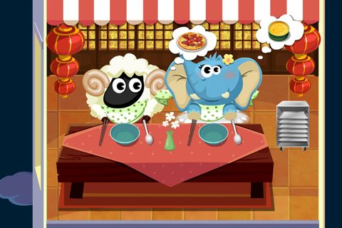 Screenshots of the Dr. Panda's restaurant game for iPhone, iPad or iPod.