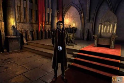 Écrans du jeu Dracula 5: The blood legacy pour iPhone, iPad ou iPod.
