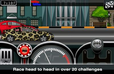 Capturas de pantalla del juego Drag Racer Pro Tuner para iPhone, iPad o iPod.