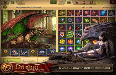 Capturas de pantalla del juego Dragon Eternity para iPhone, iPad o iPod.