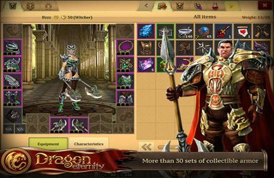 Screenshots of the Dragon Eternity game for iPhone, iPad or iPod.
