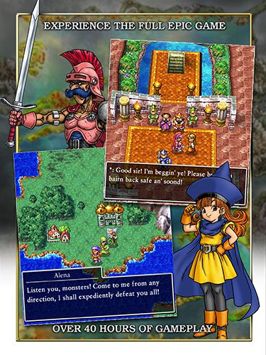 Screenshots vom Spiel Dragon quest 4: Chapters of the chosen für iPhone, iPad oder iPod.