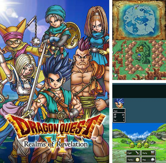 In addition to the game Hungry Piggy 3: Carrot for iPhone, iPad or iPod, you can also download Dragon quest 6: Realms of revelation for free.