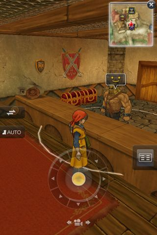 Kostenloser Download von Dragon quest 8: Journey of the cursed king für iPhone, iPad und iPod.