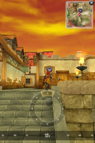 Capturas de pantalla del juego Dragon quest 8: Journey of the cursed king para iPhone, iPad o iPod.
