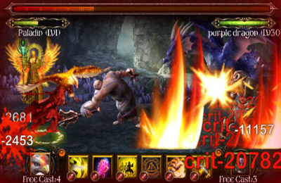Скриншот игры Dragon Redemption - Shadow Of Devil на Айфон.
