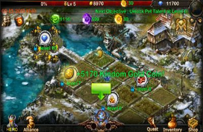 Capturas de pantalla del juego Dragon Redemption - Shadow Of Devil para iPhone, iPad o iPod.
