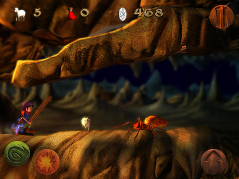 Capturas de pantalla del juego Dragon & shoemaker para iPhone, iPad o iPod.
