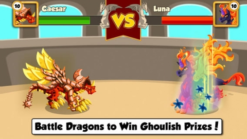 Download Dragon Story: Halloween iPhone free game.