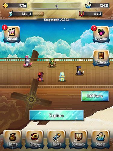 Screenshots do jogo Dragonbolt vanguard para iPhone, iPad ou iPod.