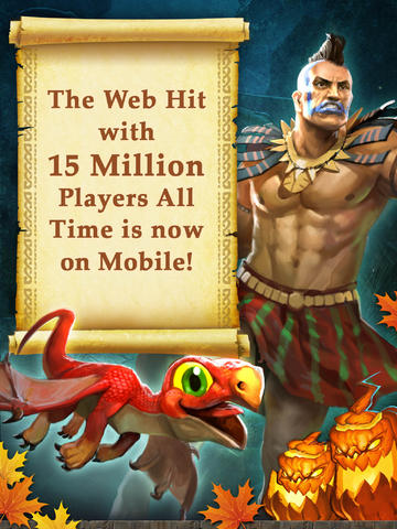 Kostenloser Download von Dragons of Atlantis: Heirs of the Dragon für iPhone, iPad und iPod.
