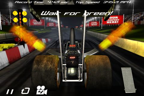 Free Dragster mayhem download for iPhone, iPad and iPod.