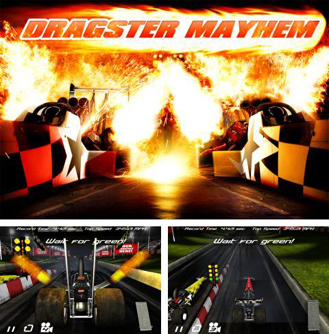In addition to the game Space miner: Platinum edition for iPhone, iPad or iPod, you can also download Dragster mayhem for free.