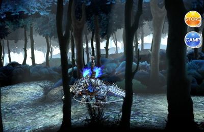 Capturas de pantalla del juego DRAKERIDER Chains Transcendent para iPhone, iPad o iPod.