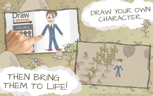 Download Draw a stickman: Epic iPhone free game.