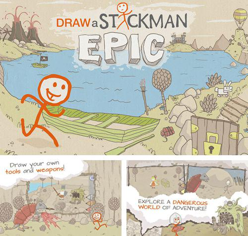 In addition to the game Tiny Plane for iPhone, iPad or iPod, you can also download Draw a stickman: Epic for free.