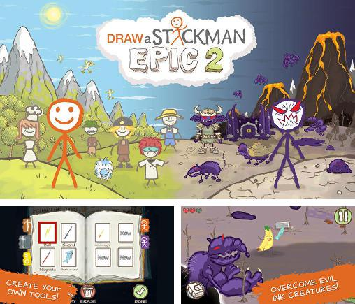 In addition to the game The 2048 for iPhone, iPad or iPod, you can also download Draw a stickman: Epic 2 for free.