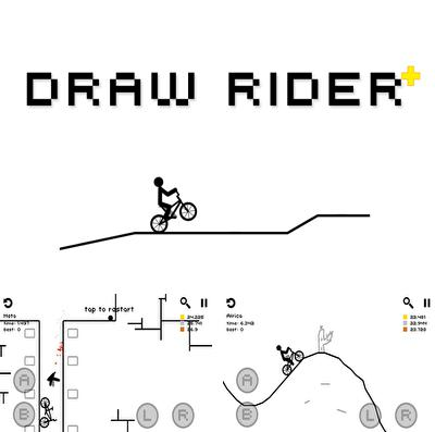 In addition to the game Doodle kick for iPhone, iPad or iPod, you can also download Draw Rider Plus for free.