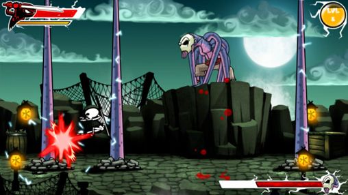 Capturas de pantalla del juego Draw slasher para iPhone, iPad o iPod.