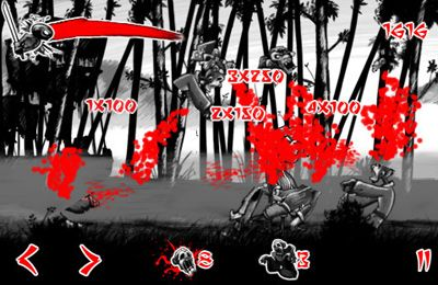 Téléchargement gratuit de Draw Slasher: Dark Ninja vs Pirate Monkey Zombies pour iPhone, iPad et iPod.