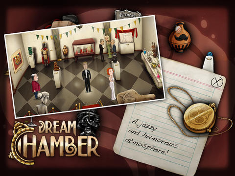 Download Dream Chamber iPhone free game.