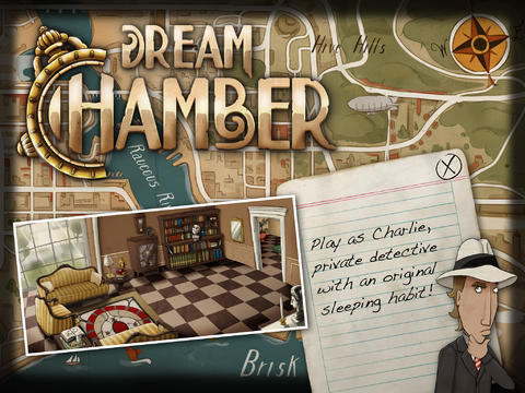 Screenshots of the Dream Chamber game for iPhone, iPad or iPod.