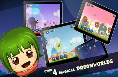 Screenshots of the Dream Chase Pro game for iPhone, iPad or iPod.